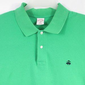 Brooks Brothers 346 Polo Shirt Men's Short Sleeve
